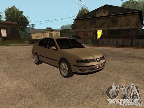 Seat Toledo 1.9 1999 für GTA San Andreas Rückansicht