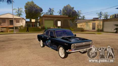 GAZ Volga 24 für GTA San Andreas Rückansicht