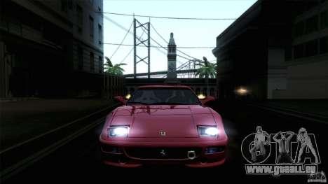 Ferrari F355 Challenge 1995 pour GTA San Andreas laissé vue