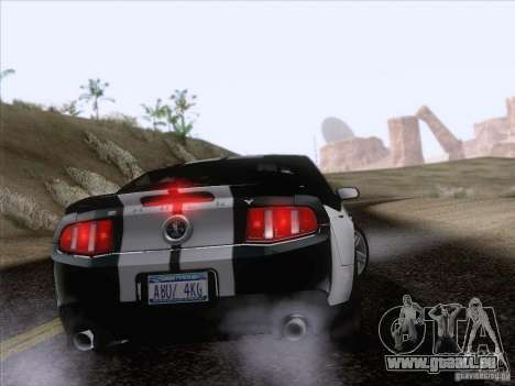 Ford Shelby Mustang GT500 2010 für GTA San Andreas