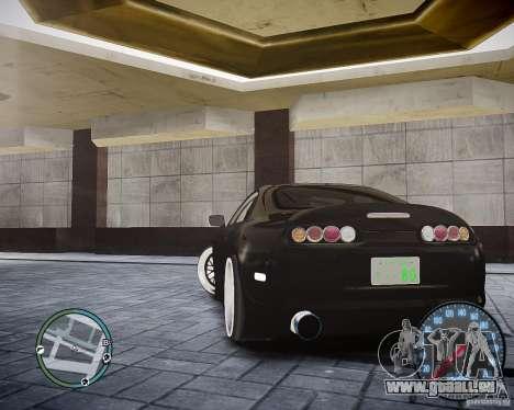 TOYOTA JZA80 SUPRA für GTA 4 hinten links Ansicht