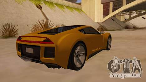 Saleen S5S Raptor 2010 pour GTA San Andreas vue de droite