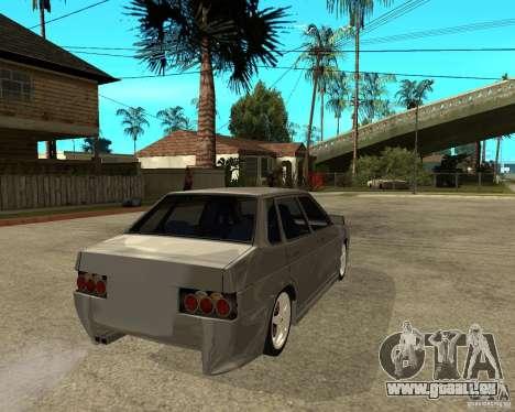 VAZ-2199 Lûbera tuning pour GTA San Andreas sur la vue arrière gauche