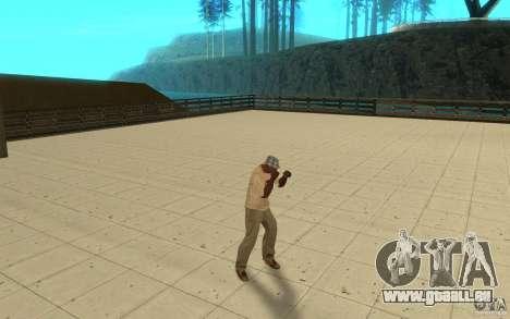 Différents styles de pour GTA San Andreas deuxième écran