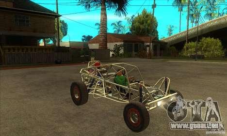 Dirt 3 Stadium Buggy für GTA San Andreas Rückansicht