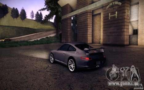 Porsche 911 GT3 (997) 2007 für GTA San Andreas linke Ansicht