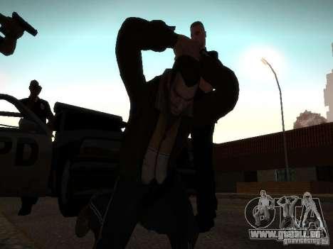 Nouvelles histoires Niko Bellis pour GTA San Andreas deuxième écran
