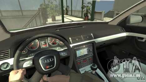 Audi A4 Avant beta für GTA 4 Rückansicht