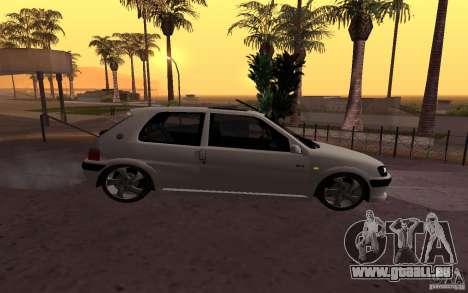 Peugeot 106 GTi pour GTA San Andreas laissé vue