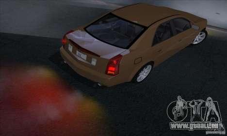 Cadillac CTS-V für GTA San Andreas rechten Ansicht