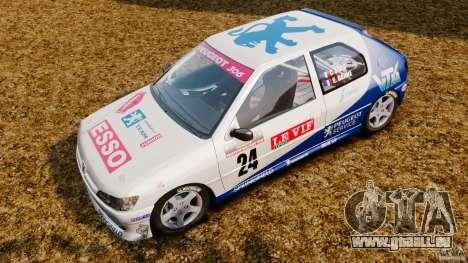 Peugeot 306 Gr. N Rally für GTA 4 hinten links Ansicht
