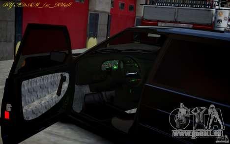 VAZ 2115 für GTA 4 hinten links Ansicht