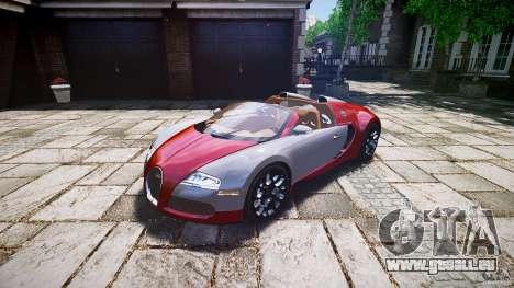 Bugatti Veyron Grand Sport [EPM] 2009 pour GTA 4 est un droit