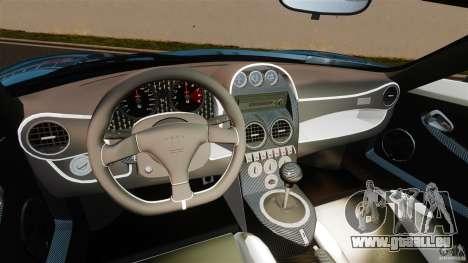 Noble M600 Bicolore 2010 für GTA 4 Rückansicht