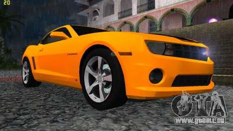 Chevrolet Camaro SS 2010 pour GTA Vice City