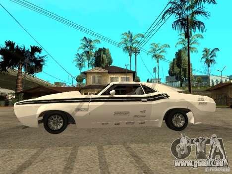 Dodge Challenger Speed 1971 pour GTA San Andreas laissé vue
