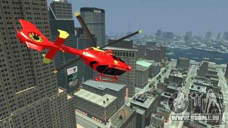 Medicopter 117 für GTA 4 rechte Ansicht
