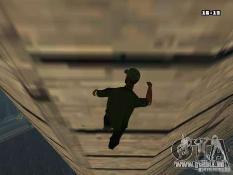 Parkour Mod für GTA San Andreas siebten Screenshot