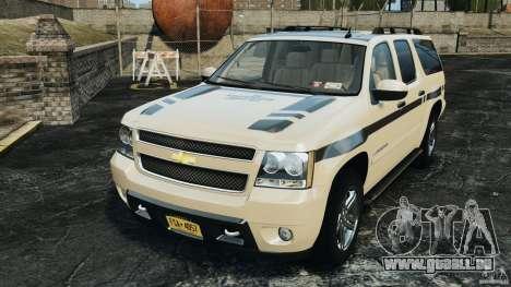 Chevrolet Suburban GMT900 2008 v1.0 pour GTA 4