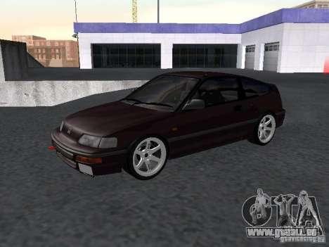 Honda Civic CRX JDM pour GTA San Andreas laissé vue