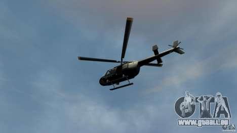 Helicopter Generation-GTA pour GTA 4 Vue arrière