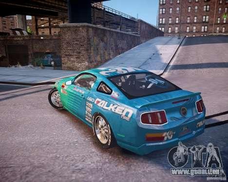 Ford Mustang Falken pour GTA 4 est une gauche