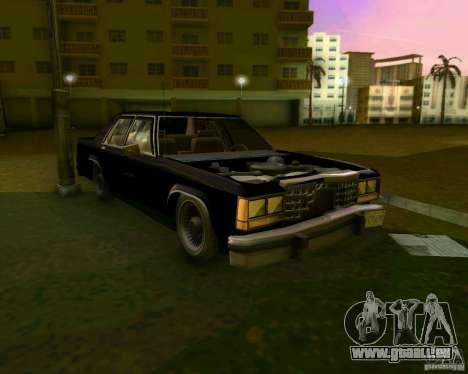 Ford Crown Victora LTD 1985 pour GTA Vice City vue de dessous