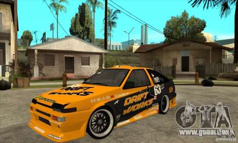 Toyota Corolla GT-S DriftWorks pour GTA San Andreas