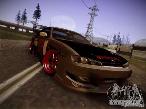 Nissan Silvia S14 Hell pour GTA San Andreas laissé vue