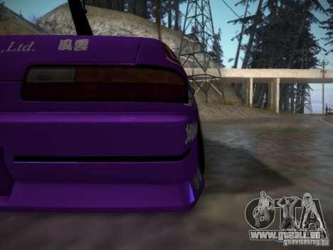 Nissan Silvia S13 Team Burst für GTA San Andreas Innenansicht