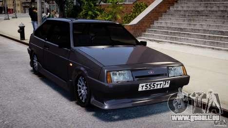 Vaz 2108 Sport pour GTA 4 Vue arrière