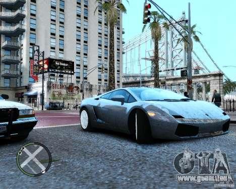 Lamborghini Gallardo 2005 pour GTA 4 est un droit