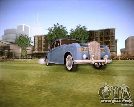 Rolls Royce Silver Cloud III pour GTA San Andreas vue de droite
