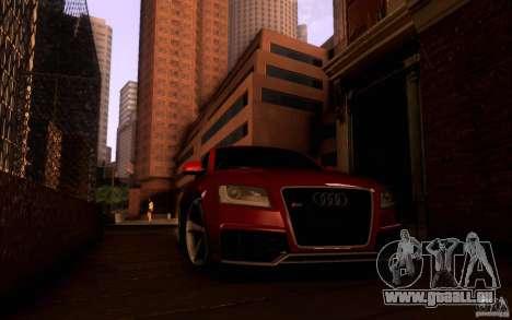 Audi RS5 pour GTA San Andreas vue intérieure