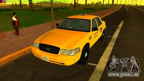 Ford Crown Victoria Taxi 2003 pour GTA Vice City