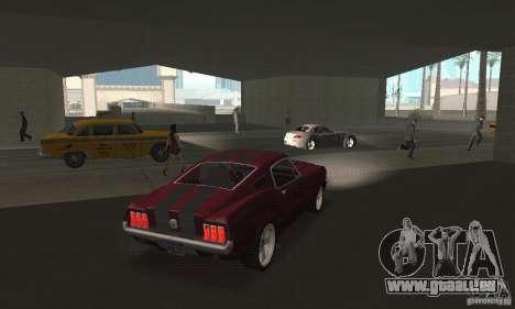 Ford Mustang 1968 für GTA San Andreas linke Ansicht