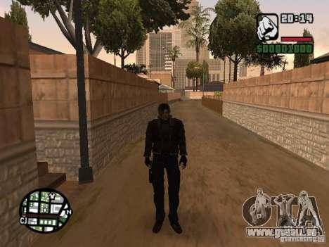 Mise à jour Pak personnages de Resident Evil 4 pour GTA San Andreas deuxième écran