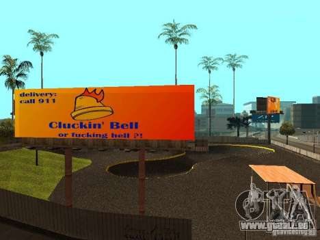 New SkatePark für GTA San Andreas sechsten Screenshot