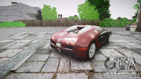 Bugatti Veyron 16.4 v3.0 2005 [EPM] Machiavelli für GTA 4 Seitenansicht