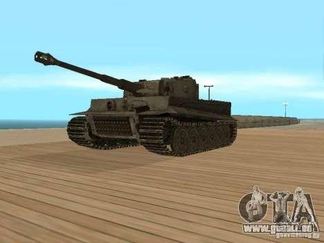 Pzkpfw VI Tiger pour GTA San Andreas