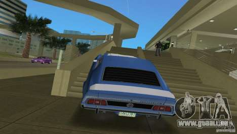 Ford Mustang 1973 pour une vue GTA Vice City de la droite