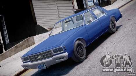 Chevrolet Impala 1983 [Final] pour GTA 4