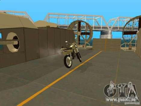 Moto Čezet pour GTA San Andreas vue de droite