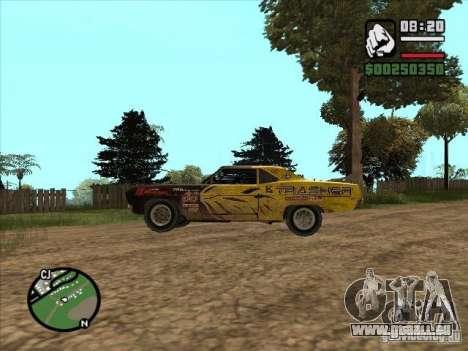 FlatOut Blade pour GTA San Andreas sur la vue arrière gauche