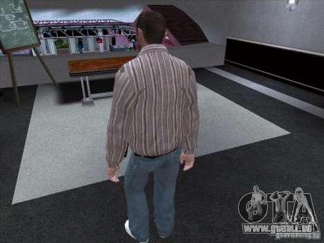 Niko Bellic pour GTA San Andreas troisième écran