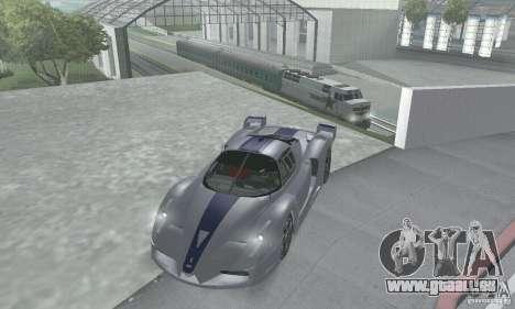 Ferrari FXX pour GTA San Andreas vue de côté