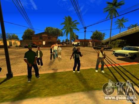 Party zone pour GTA San Andreas cinquième écran