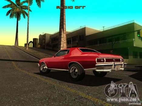Ford Gran Torino 1975 pour GTA San Andreas laissé vue