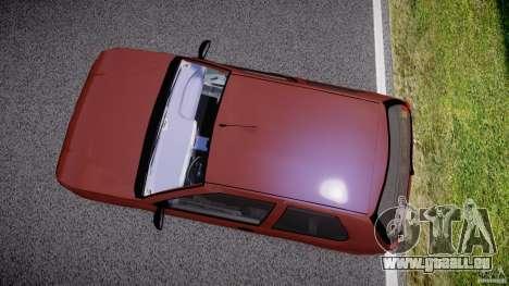 Fiat Palio 1.6 pour GTA 4 est une vue de l'intérieur