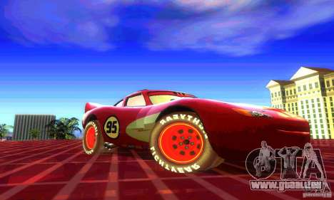 MCQUEEN from Cars pour GTA San Andreas